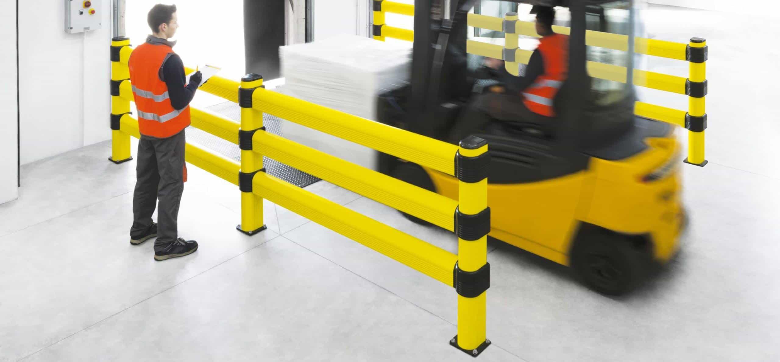 LINK 3 Forklift Barrier