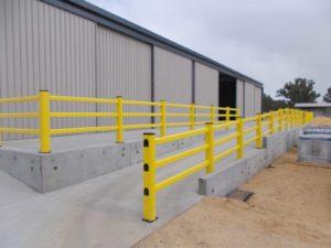 PED150 Forklift Barrier